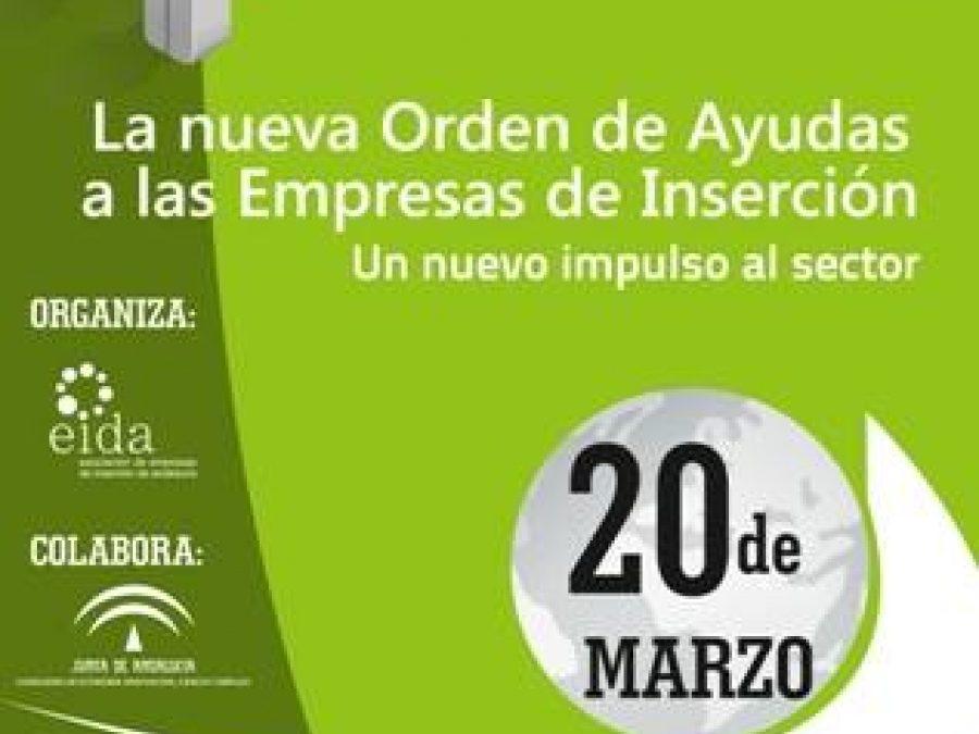 Jornada sobre la Orden de incentivos para empresas de inserción de Andalucía