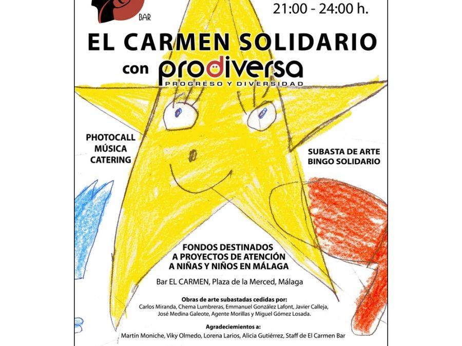 El Carmen Bar solidario con PRODIVERSA