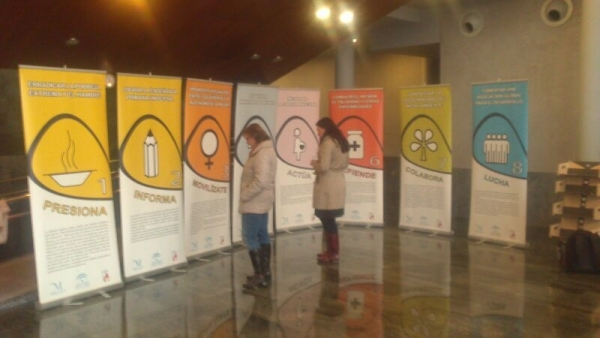 Exposición ODM en Dos Hermanas